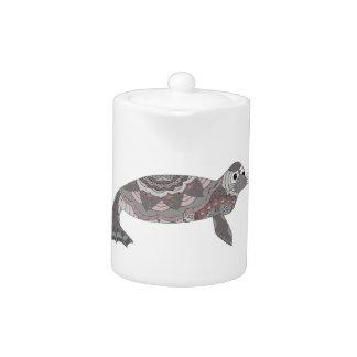 Seal Teapot