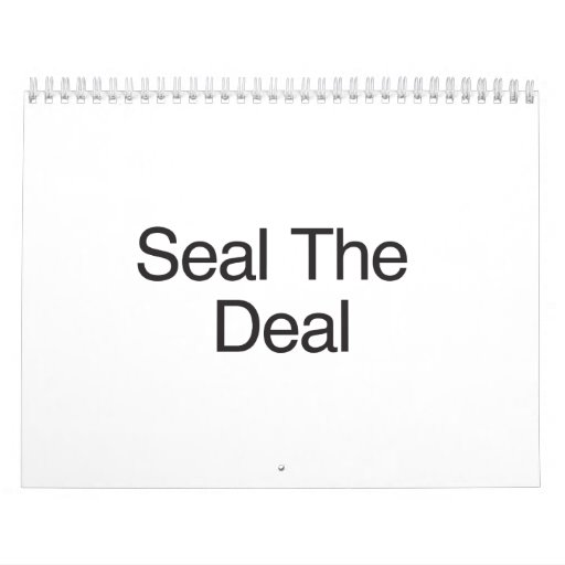 Seal The Deal.ai Wall Calendar