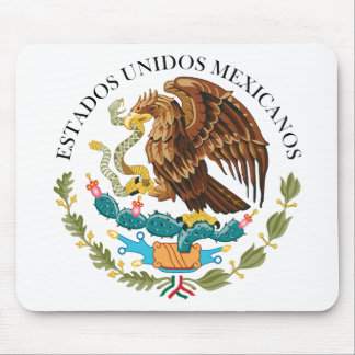 Seal the Government Mexico, Mexico Mouse Pads