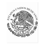 Seal the Government Mexico , Mexico Post Cards