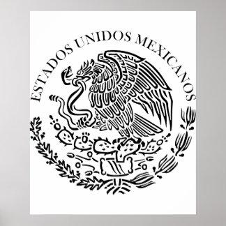 Seal the Government Mexico , Mexico Poster