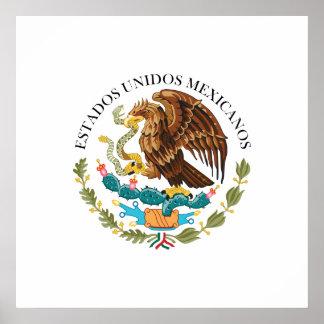 Seal the Government Mexico, Mexico Poster