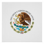 Seal the Government Mexico, Mexico Posters