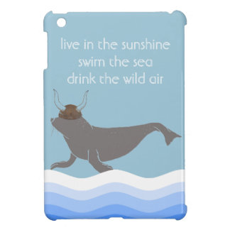 Seal Viking Illustration iPad Mini Cases
