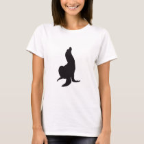 Seal Vintage Wood Engraving T-Shirt