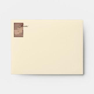 Sealed Letter on Antique Desk - Matching Envelopes