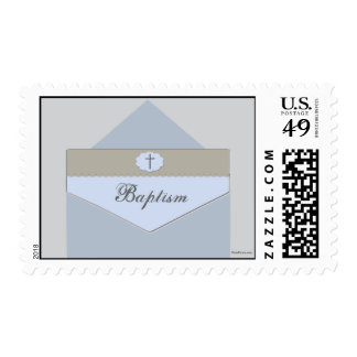Sealed with a Blessing Blue Postage