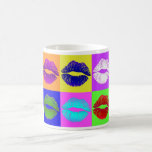Sealed with a kiss (and some coffee)! coffee mug