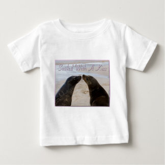 Sealed With A Kiss Infant Tee-Shirt Baby T-Shirt