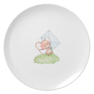 Sealed With A Kiss Mice Love Letter Plate
