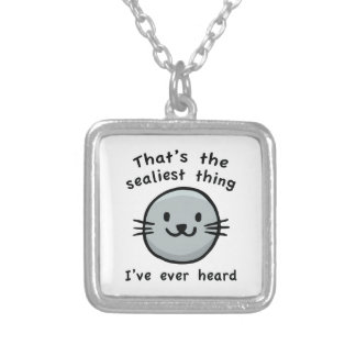 Sealiest Thing Silver Plated Necklace
