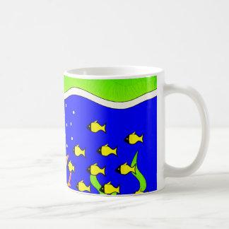 Sealife Cute tropical island Coffee Mug
