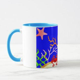 Sealife Cute tropical island Mug