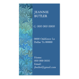 Sealife Double-Sided Standard Business Cards (Pack Of 100)