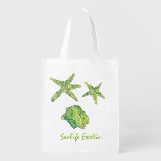 Sealife Exotic Reusable Grocery Bag