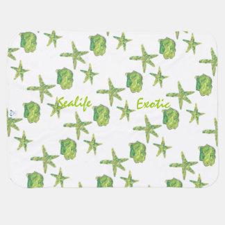 Sealife Exotic Baby Blanket