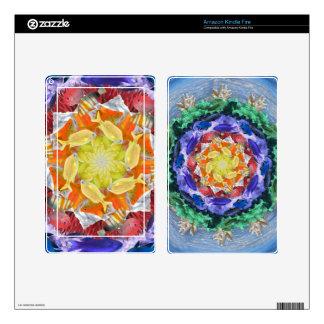 Sealife Spectrum Mandala Decal For Kindle Fire