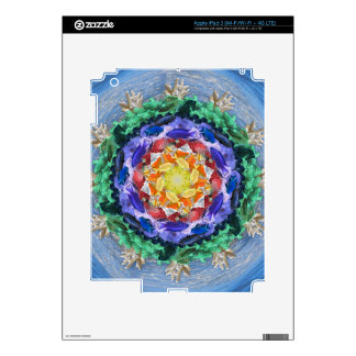 Sealife Spectrum Mandala iPad 3 Skin
