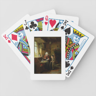 Sealing a Letter, 1890 (oil on panel) Bicycle Playing Cards