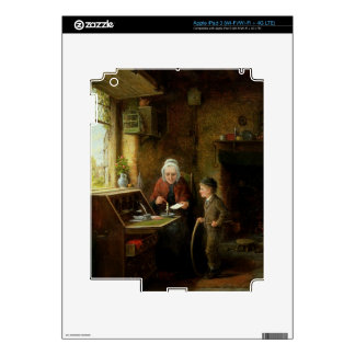 Sealing a Letter, 1890 (oil on panel) iPad 3 Decals
