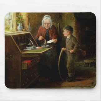 Sealing a Letter, 1890 (oil on panel) Mouse Pad