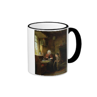 Sealing a Letter 1890 oil on panel Coffee Mugs