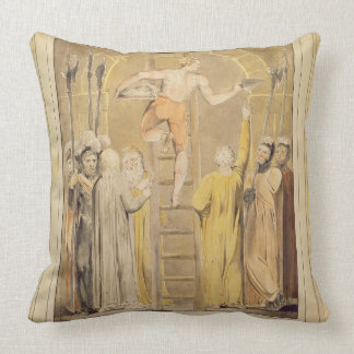 Sealing the Stone and Setting a Watch, 1800-03 (pe Throw Pillow