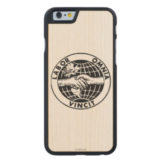 Seals: Afl Carved® Maple iPhone 6 Case