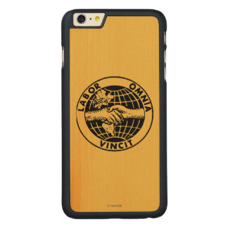 Seals: Afl Carved® Maple iPhone 6 Plus Case