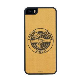 Seals: Afl Wood Phone Case For iPhone SE/5/5s