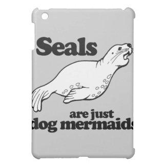 SEALS ARE JUST DOG MERMAIDS - iPad MINI CASE