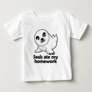 Seals ate my homework baby T-Shirt