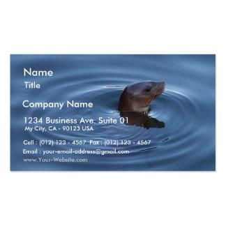 Seals Lions Business Card Templates