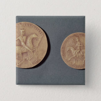 Seals of Charles I  of Anjou Button