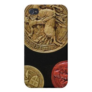 Seals of Gilles de Laval Lord of Rais Case For iPhone 4