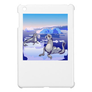 Seals On Ice Cover For The iPad Mini