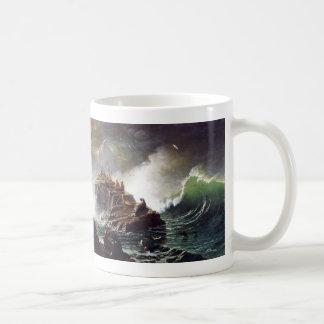 Seals on the Rocks, Farallon Islands - Bierstadt Coffee Mug