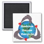 Seals Recycling Fridge Magnets