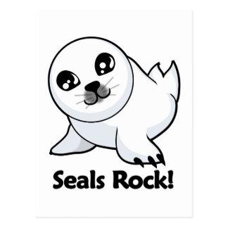 Seals Rock! Postcard