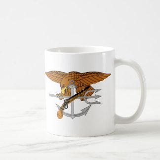 SEALs Trident Classic White Coffee Mug