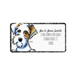 Sealyham Terrier Badger Off-Leash Art™ BK Pencil Label