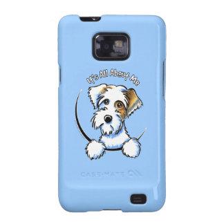 Sealyham Terrier Badger Off-Leash Art™ IAAM Galaxy SII Cases