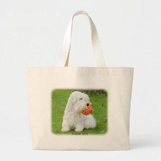 Sealyham Terrier Bolsa De Tela Grande