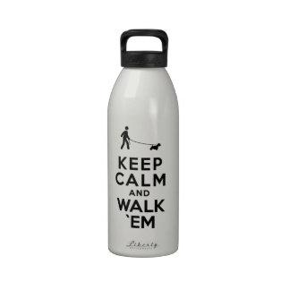Sealyham Terrier Botellas De Agua Reutilizables