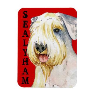 Sealyham Terrier Color Block Magnet