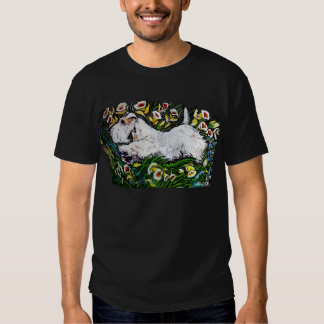 Sealyham Terrier Daffodils T Shirt