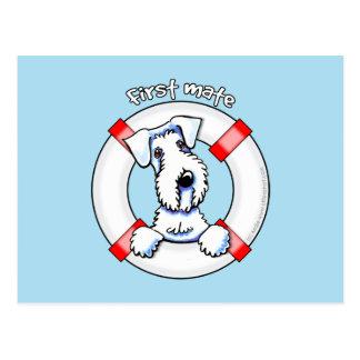 Sealyham Terrier First Mate Postcard