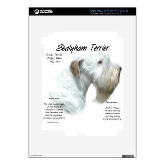 Sealyham Terrier History iPad 3 Decal