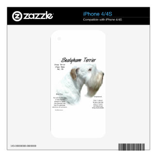 Sealyham Terrier History Skin For The iPhone 4S