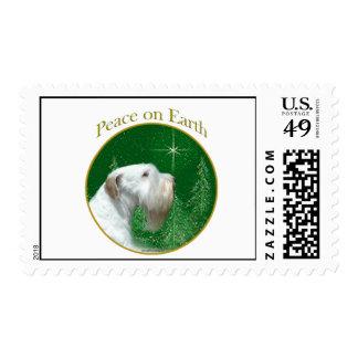 Sealyham Terrier Peace Stamp